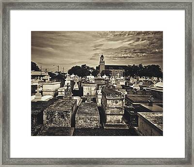 City Of The Dead - New Orleans Framed Print