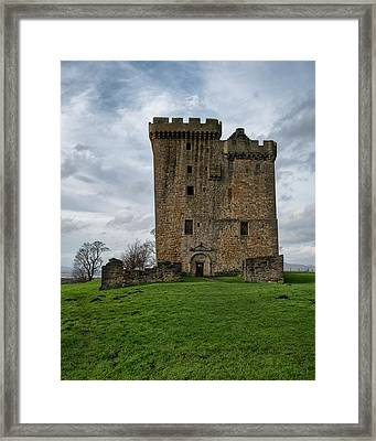 Framed Print featuring the photograph Clackmannan Tower by Jeremy Lavender Photography