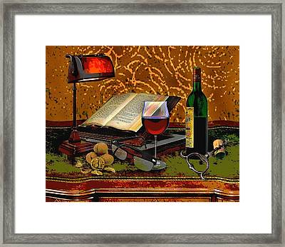 Closing Time, Framed Print