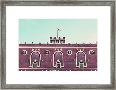 Convention Hall Framed Print by Erin Cadigan