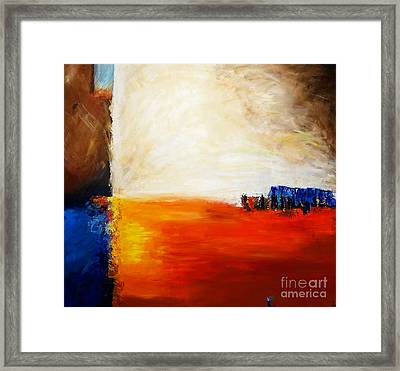 4 Corners Landscape Framed Print by Gallery Messina