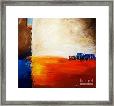 4 Corners Landscape Framed Print