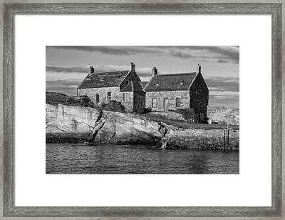 Cove Harbour Framed Print