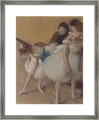 Dance Examination Framed Print