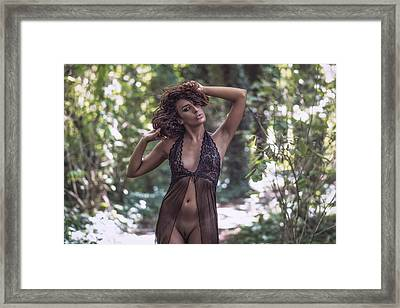 Framed Print featuring the photograph Dany by Traven Milovich