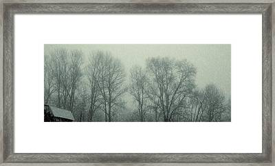 Dead Of Winter Framed Print by JAMART Photography