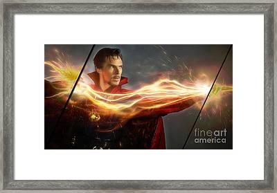 Doctor Strange Collection Framed Print by Marvin Blaine