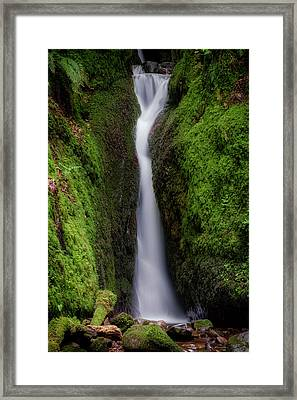 Framed Print featuring the photograph Dollar Glen In Clackmannanshire by Jeremy Lavender Photography