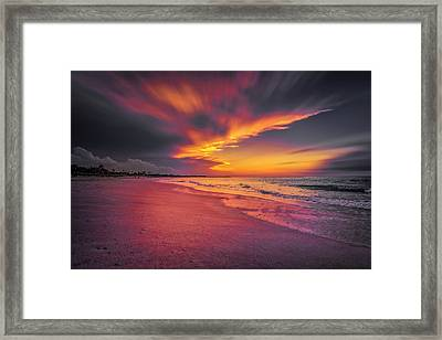 Dominicana Beach Framed Print