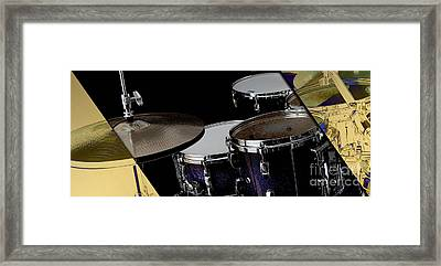 Drums Collection Framed Print