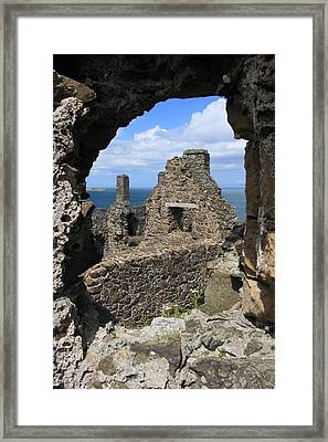 Dunluce Castle Northern Ireland Framed Print by Pierre Leclerc Photography