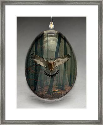 Eagle Art Framed Print by Marvin Blaine