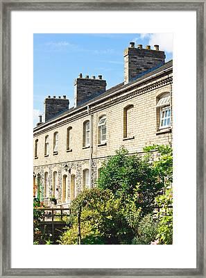 English Houses Framed Print