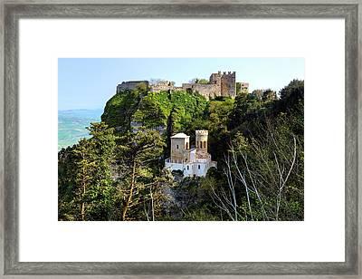 Erice - Sicily Framed Print by Joana Kruse