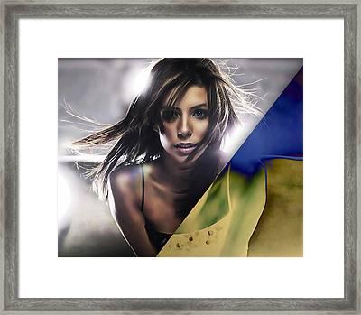Eva Longoria Collection Framed Print