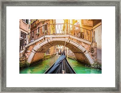 Exploring Venice Framed Print by JR Photography