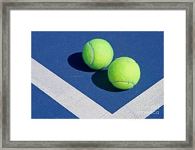 Florida Gold Coast Resort Tennis Club Framed Print by ELITE IMAGE photography By Chad McDermott