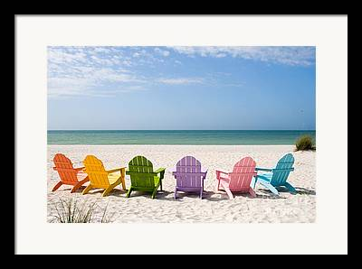 Adirondack Chair Framed Prints