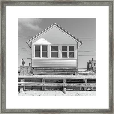 Framed Print featuring the photograph 4 - Flower Cottages Series by Edward Fielding