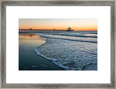 Folly Beach Framed Print