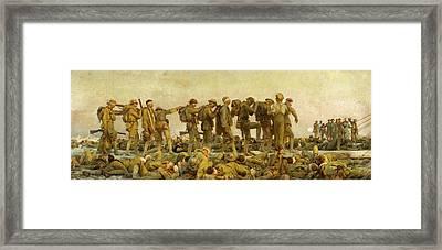 Gassed  Framed Print by John Singer Sargent