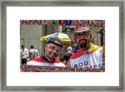 Gay Pride 2017 Nyc Framed Print by Robert Ullmann