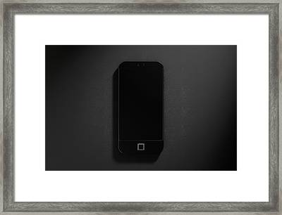 Generic Modern Smart Phone Framed Print by Allan Swart