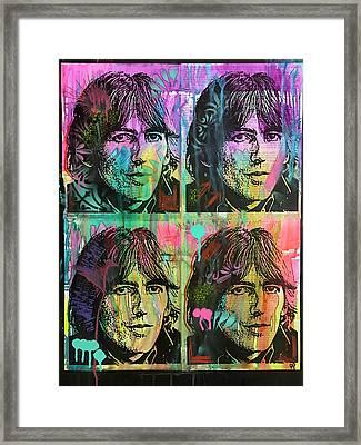 4 George Framed Print