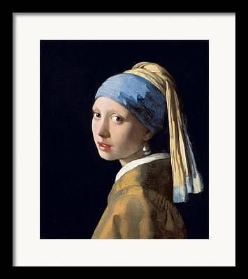 Dutch Girl Framed Prints