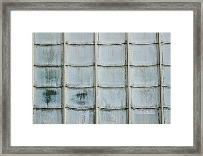 Glass Tiles Framed Print