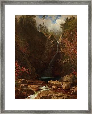 Glen Ellis Falls Framed Print
