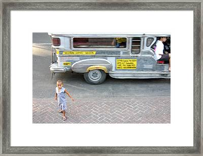 Gone Framed Print by Jez C Self