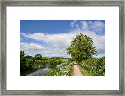 Grand Western Canal Framed Print