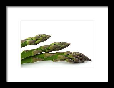 Asparagus Framed Prints