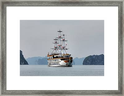 Halong Bay - Vietnam Framed Print by Joana Kruse