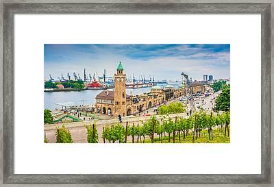 Hamburg Framed Print by JR Photography