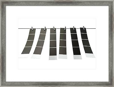 Hanging Instant Photograph Gallery Framed Print