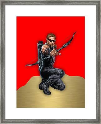 Hawkeye Collection Framed Print