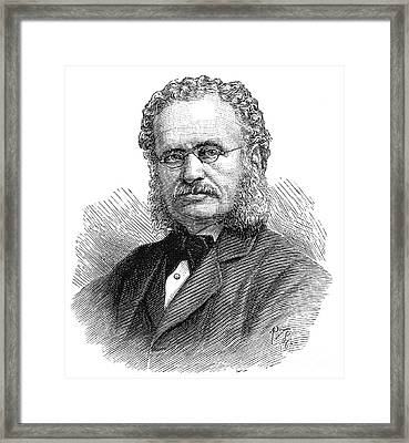 Henry Walter Bates Framed Print by Granger