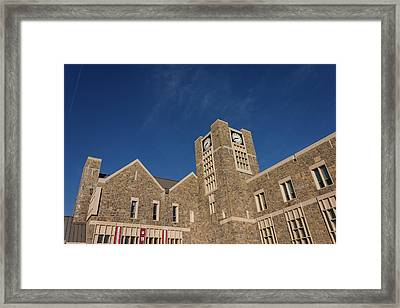 Holtzman Alumni Center At Virginia Tech Framed Print