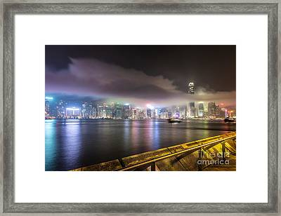 Hong Kong Stunning Skyline Framed Print