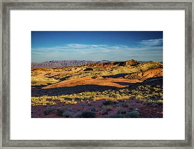 I Could Hear For Miles. Framed Print