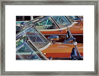 Iconic Riva Framed Print by Steven Lapkin