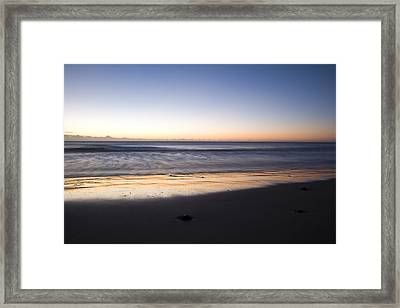 Framed Print featuring the photograph Irish Dawn by Ian Middleton