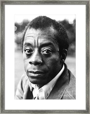 James Baldwin (1924-1987) Framed Print by Granger