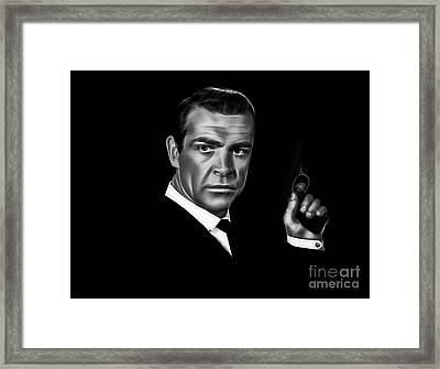 James Bond Collection Framed Print