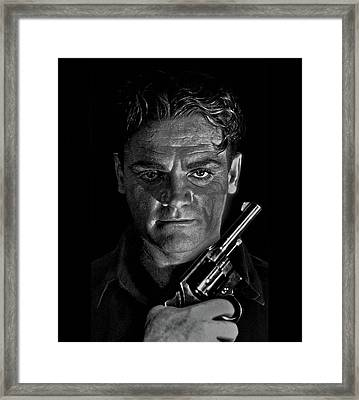 James Cagney - A Study Framed Print