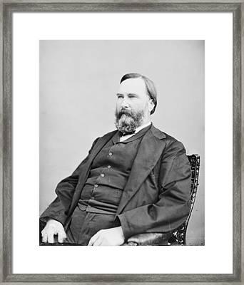 James Longstreet Framed Print by Granger