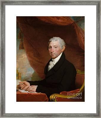 James Monroe Framed Print