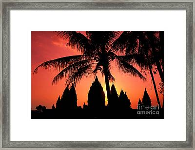 Java, Prambanan Framed Print by Gloria & Richard Maschmeyer - Printscapes